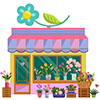 Professional flower shop