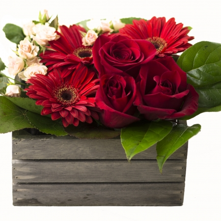 Cajita floral
